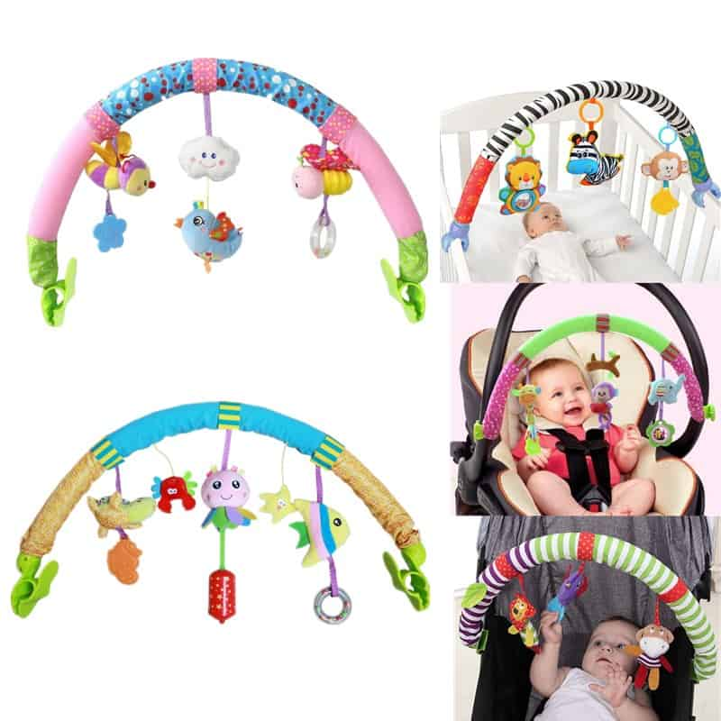 Baby Cot Mobile Hanging Educational Toys