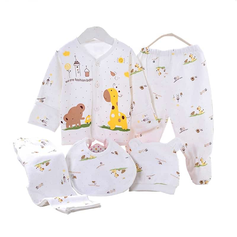Infant Girl Clothes Complete Outfit (5 pieces)