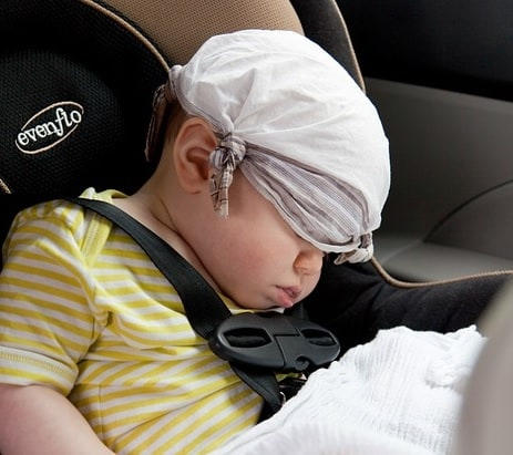 Car Accessories That Can Help Your Baby Feels Comfortable
