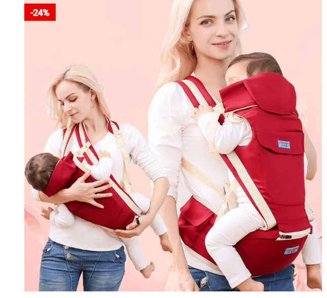 Baby Front Carrier Ergonomic Design